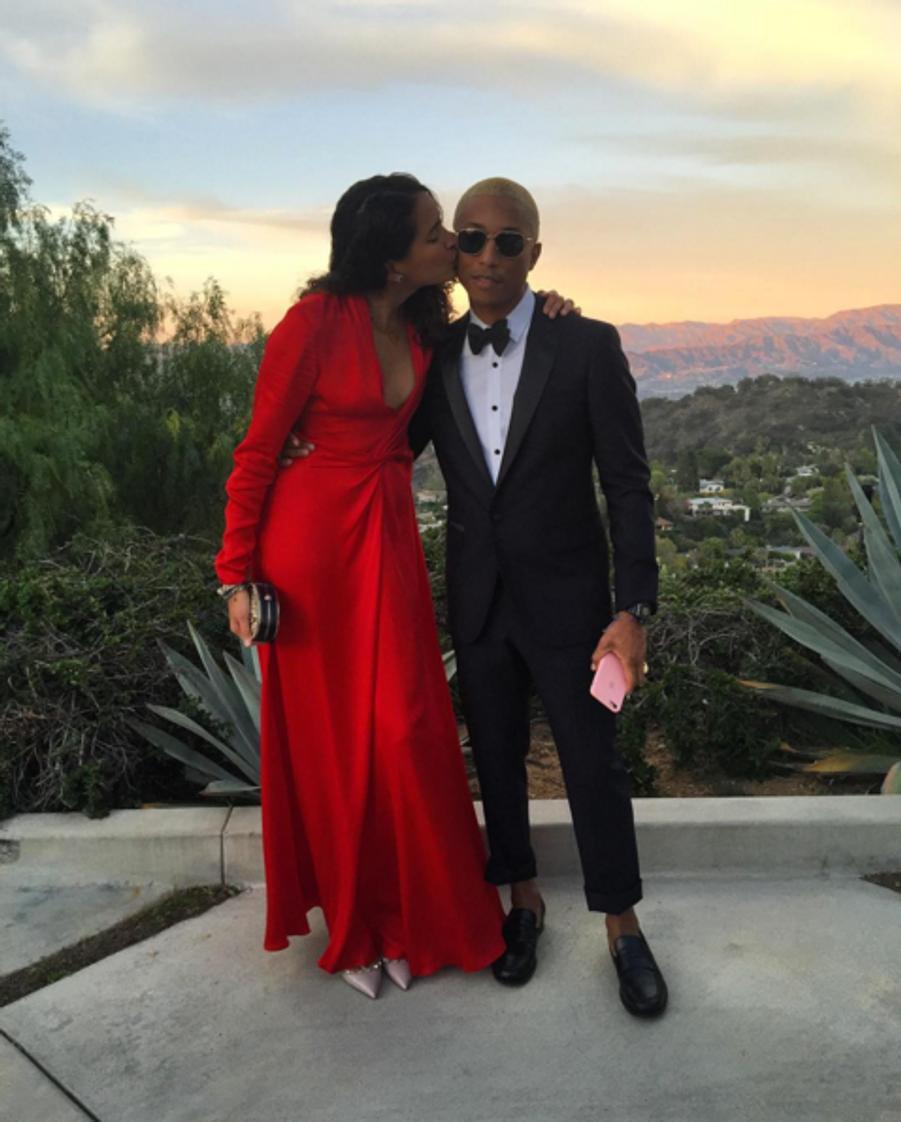 Pharrell Williams et sa femme Helen