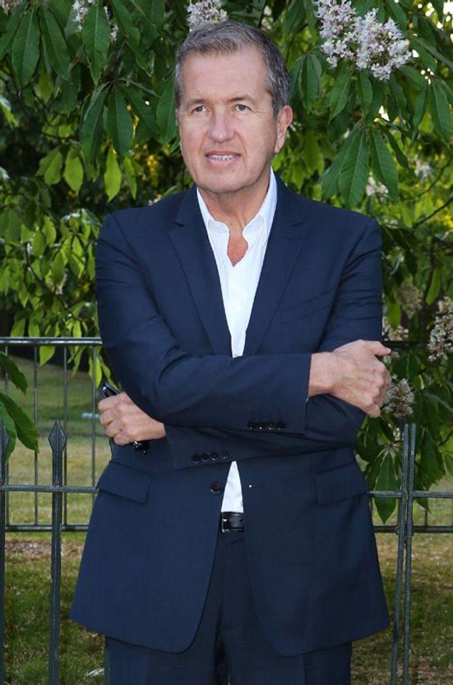 Mario Testino à Londres le 2 juillet 2015