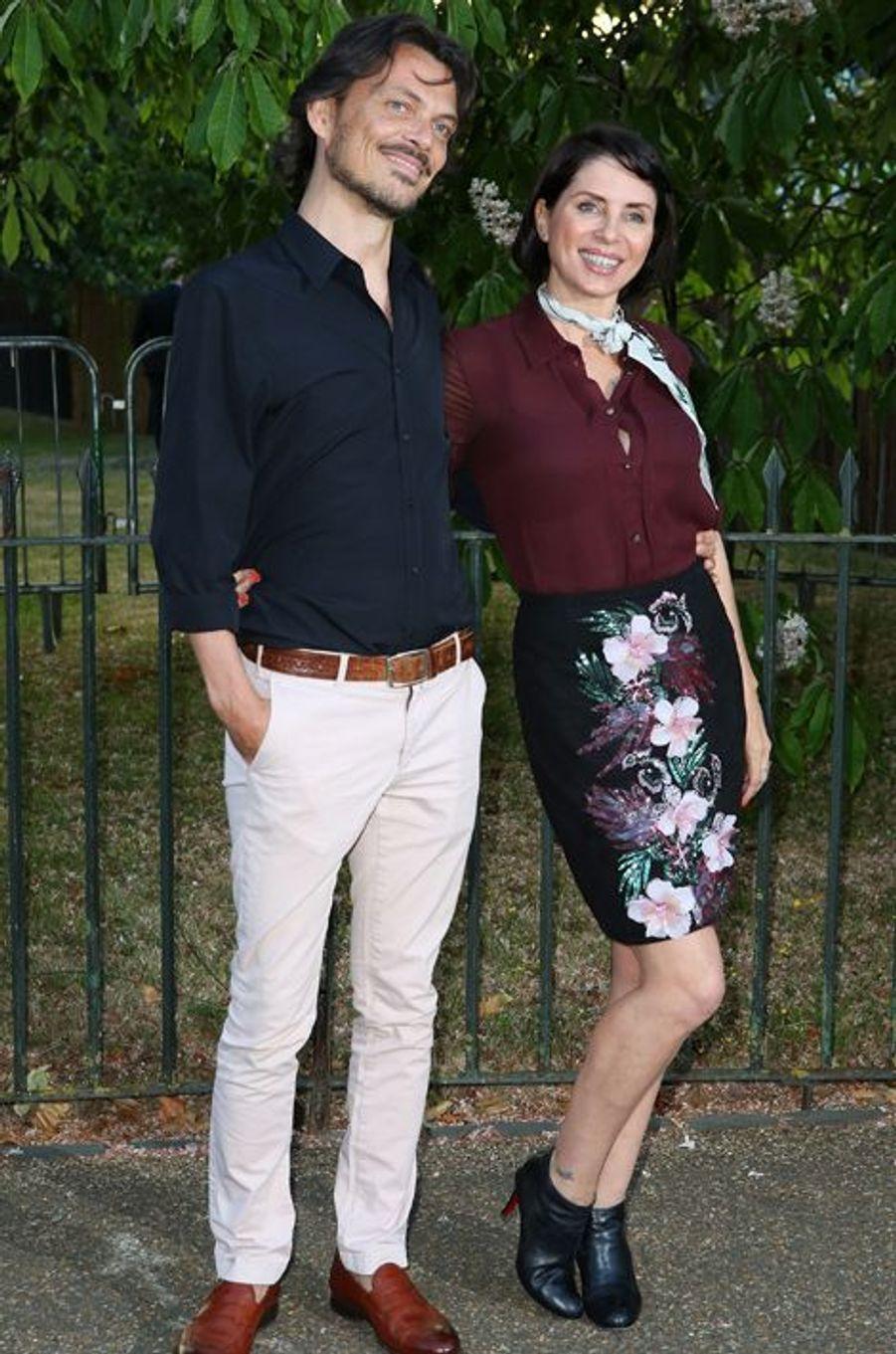 Matthew Williamson et Sadie Frost à Londres le 2 juillet 2015