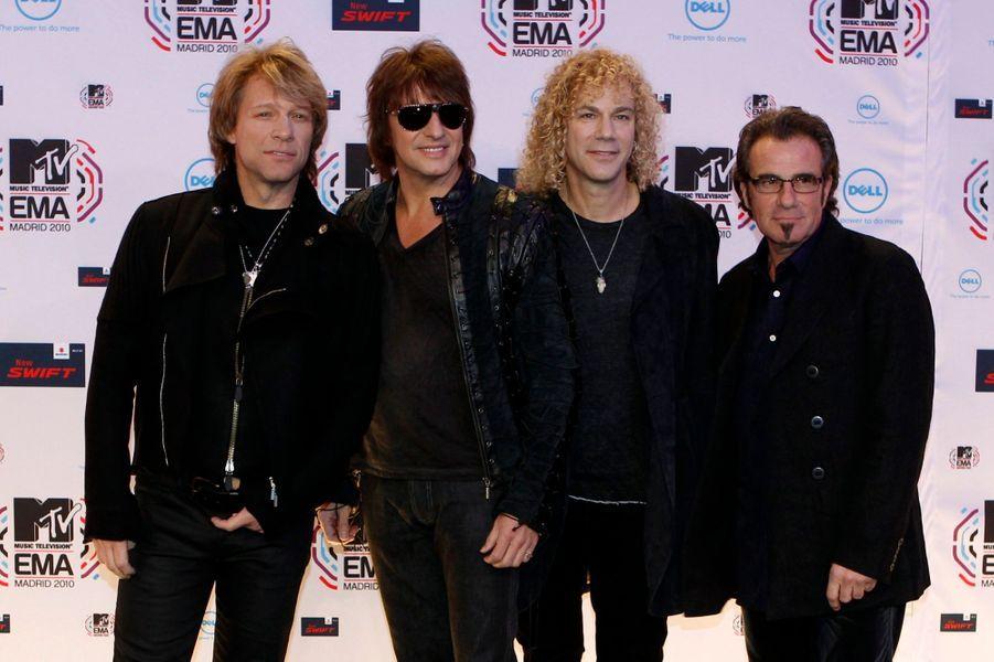 Le groupe Bon Jovi