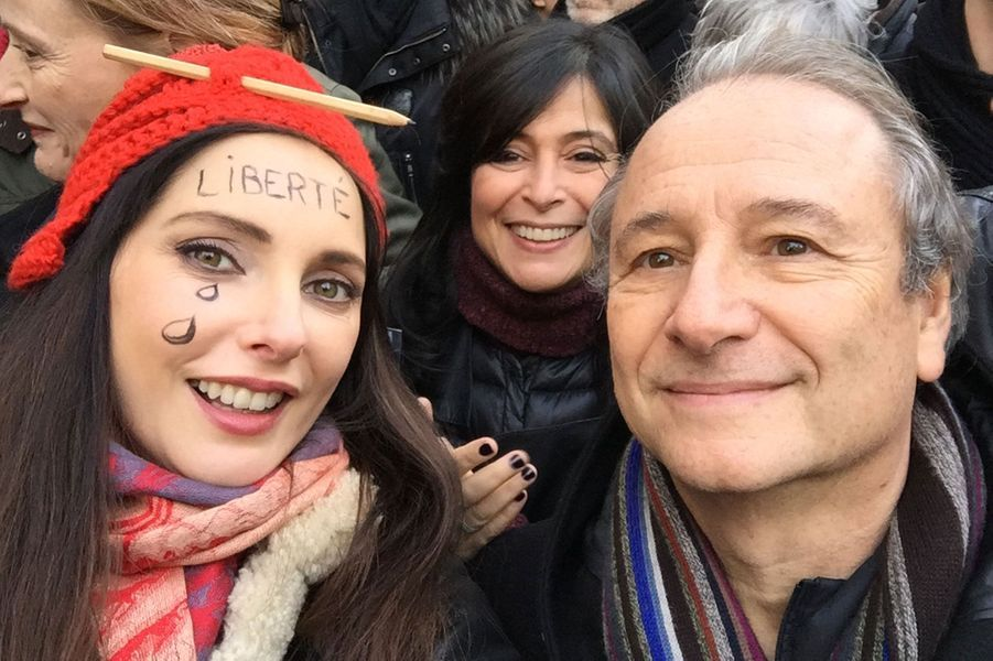 Frédérique Bel et Patrick Braoudé