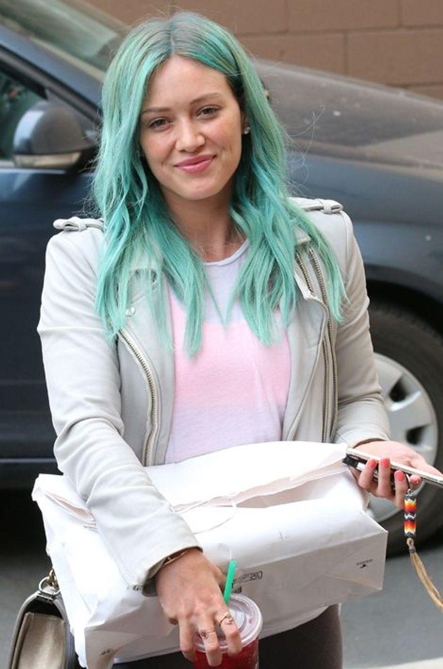 La chanteuse Hilary Duff