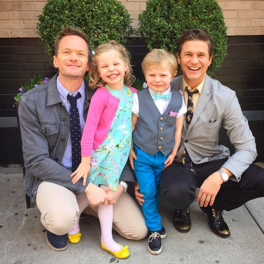 Neil Patrick Harris, son mari David Burtka et leurs enfants