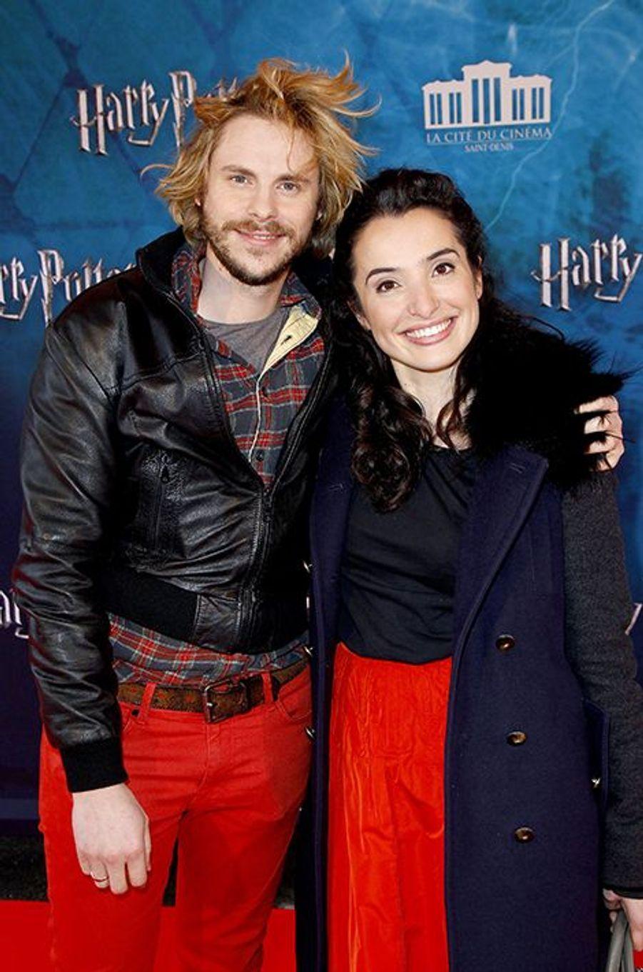 Isabelle Vitari et Jean-Baptiste Shelmerdine à Saint-Denis le 2 avril 2015