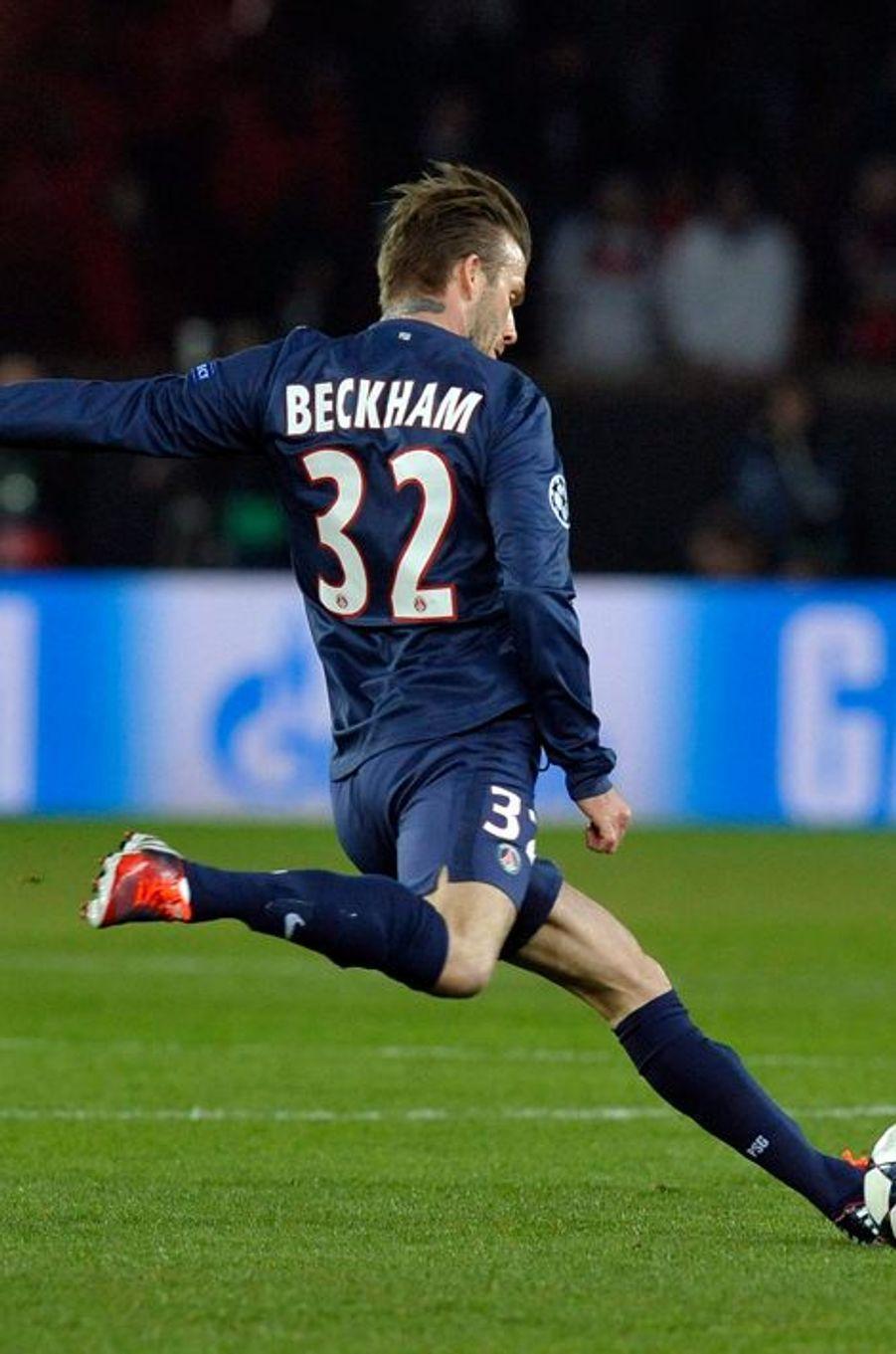 David Beckham et ses jambes aux 65 millions d'euros