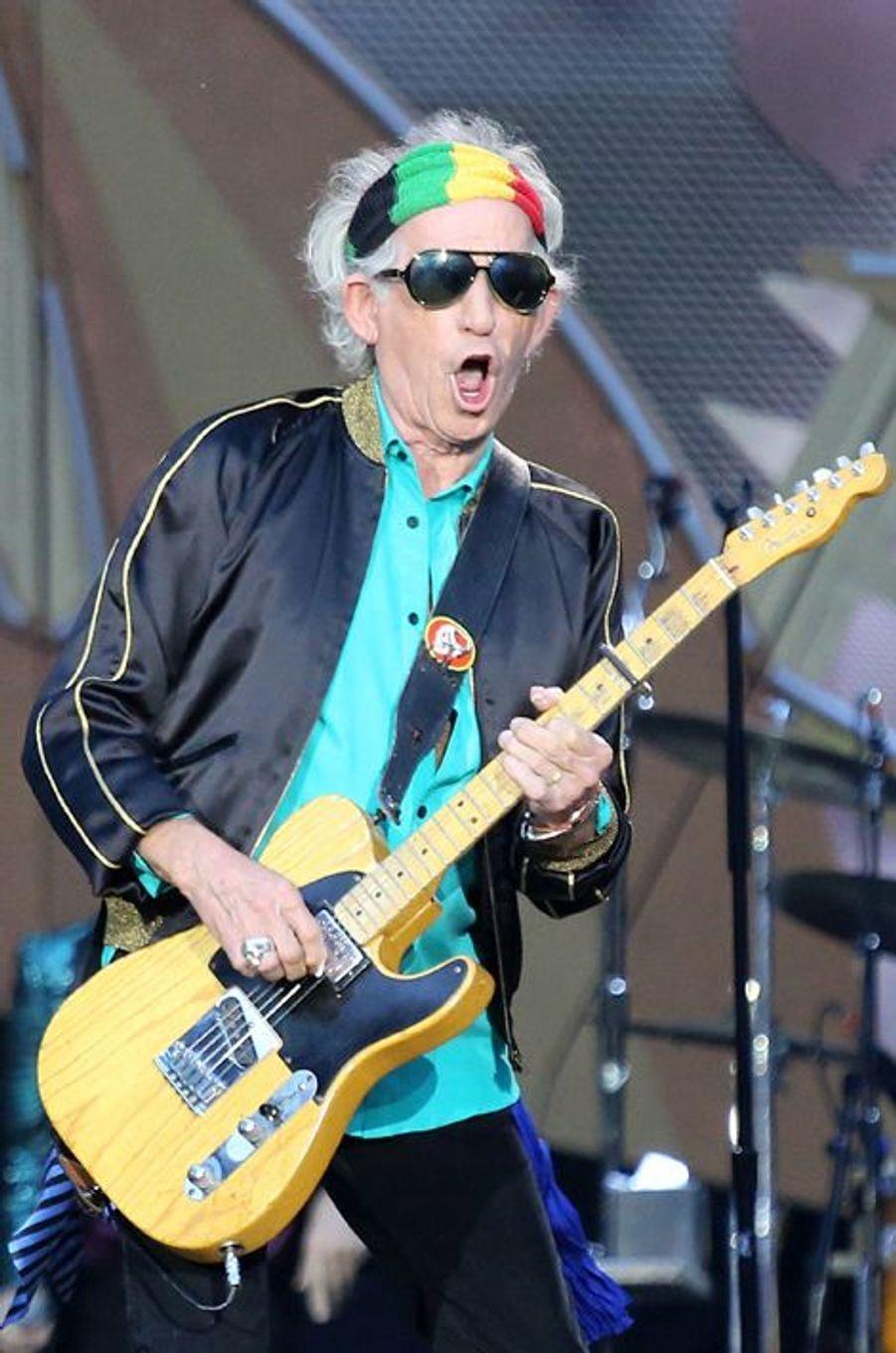 Keith Richards et son majeur à 1,6 million de dollars