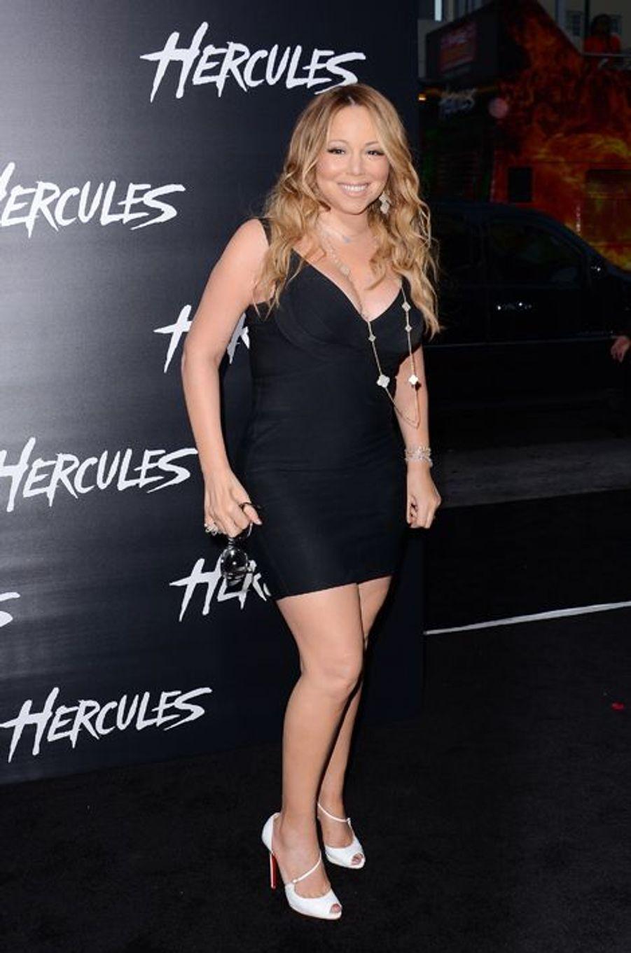 Mariah Carey et ses jambes assurées pour 1 milliard de dollars