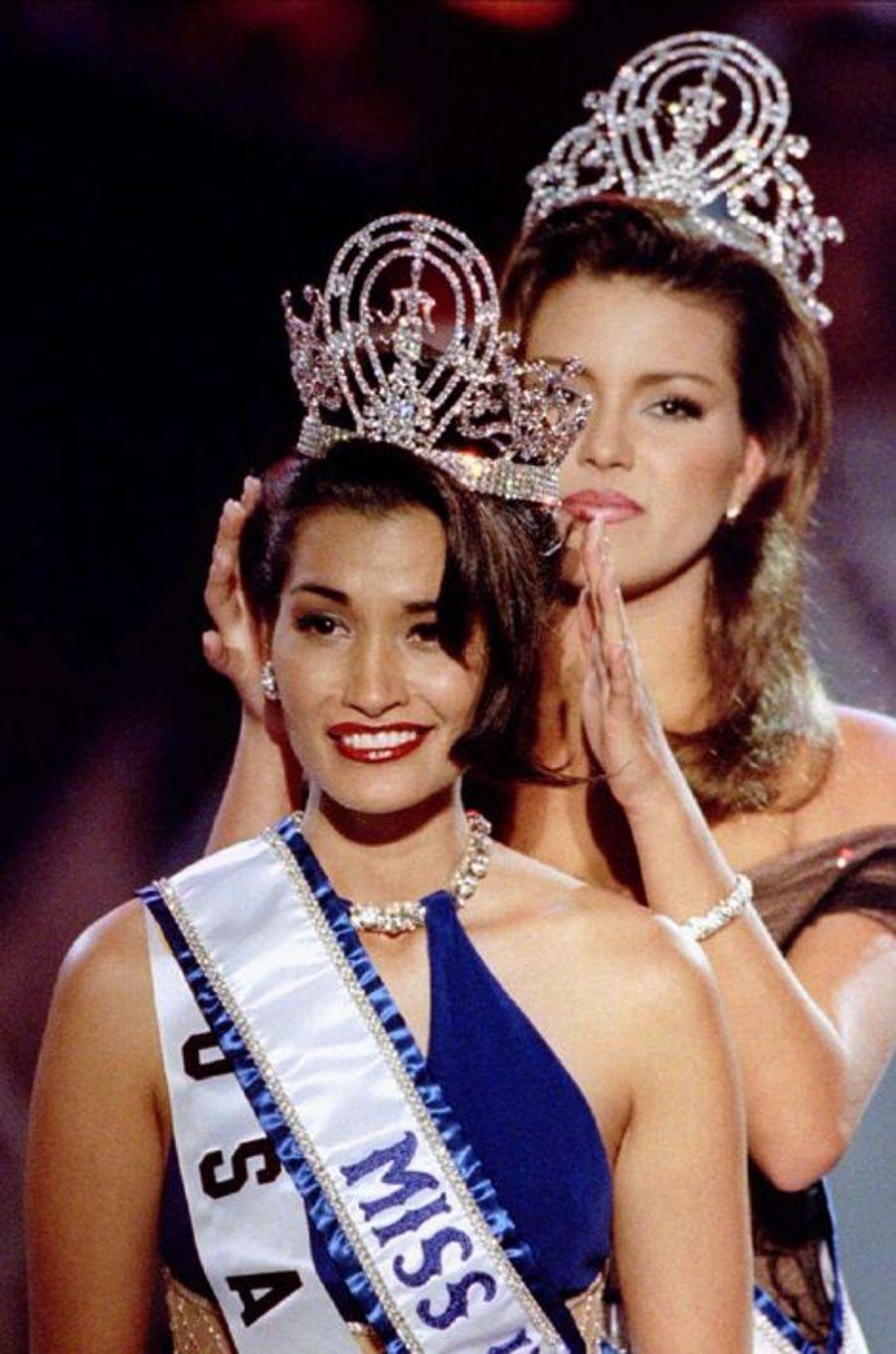 Brook Lee, Miss USA élue Miss Univers en 1997