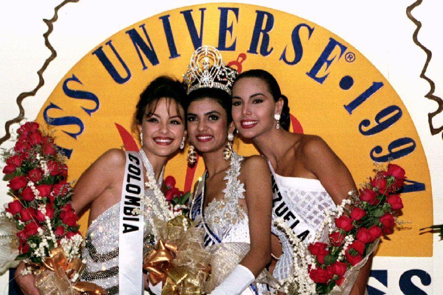 Sushmita Sen Miss Inde Miss élue Miss Univers en 1994