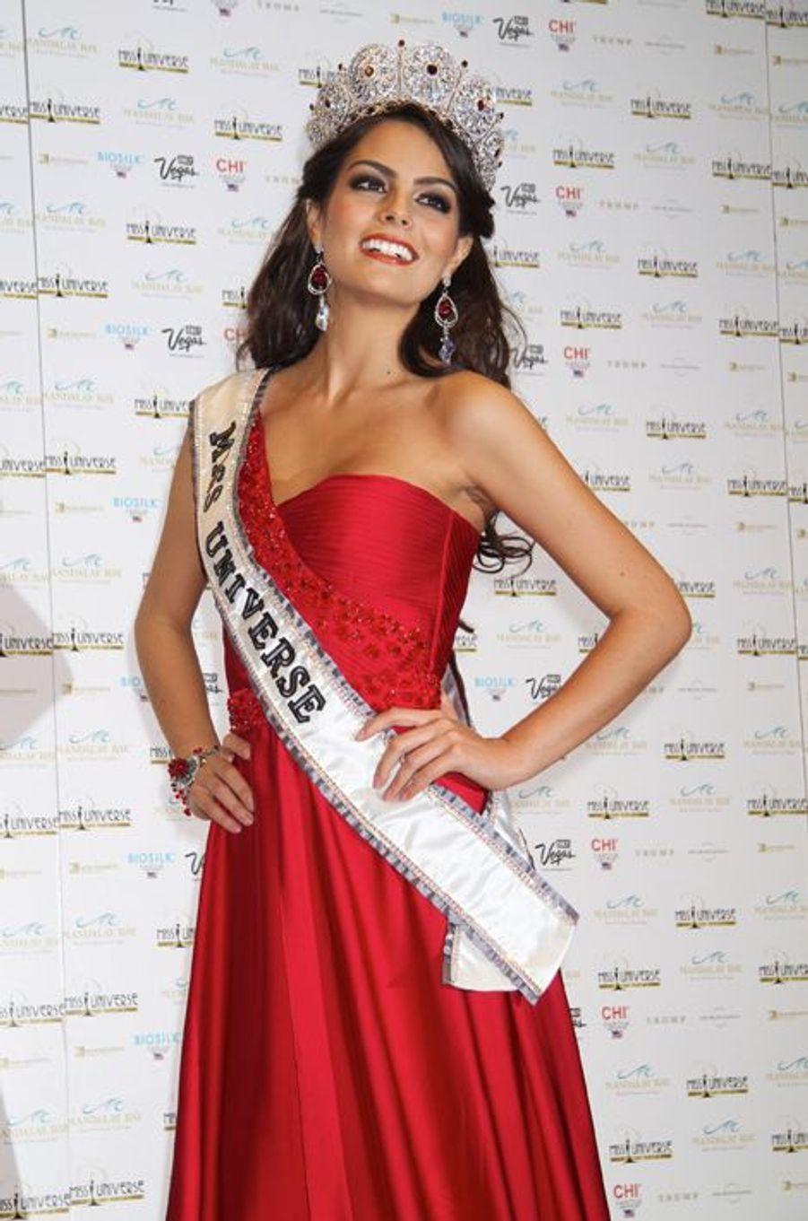 Ximena Navarrete, Miss Mexique élue Miss Univers 2010