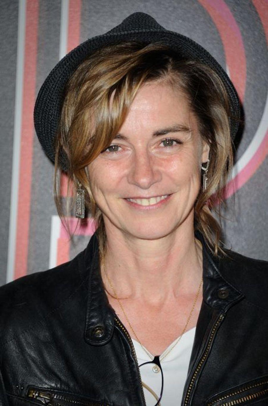 Anne Consigny à Paris le 14 avril 2015