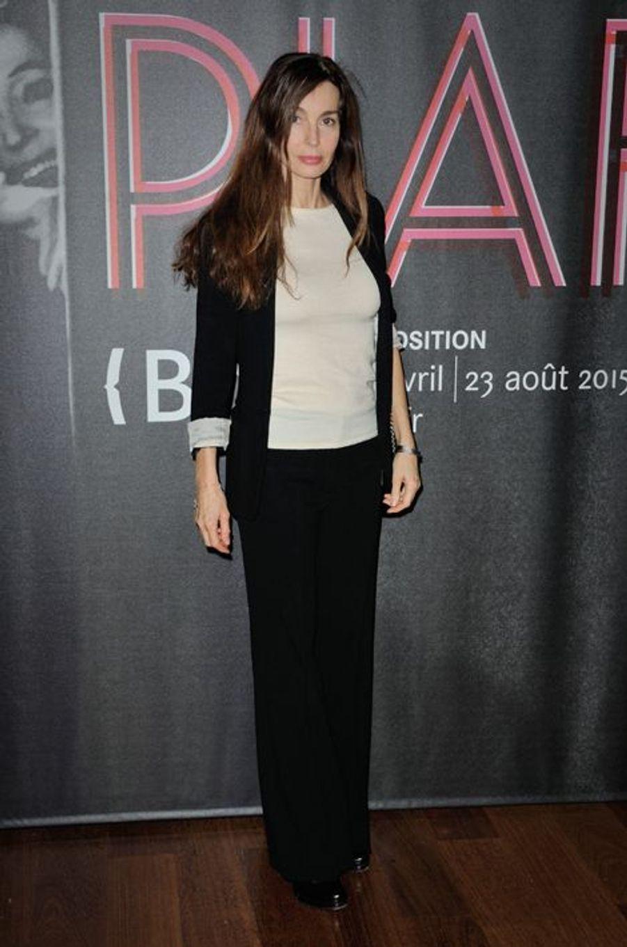 Anne Parillaud à Paris le 14 avril 2015