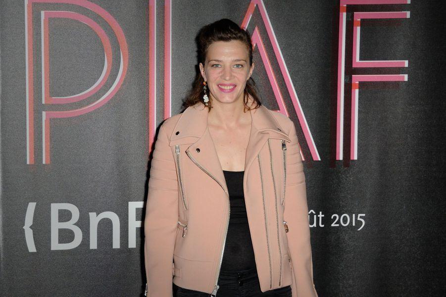 Céline Sallette à Paris le 14 avril 2015
