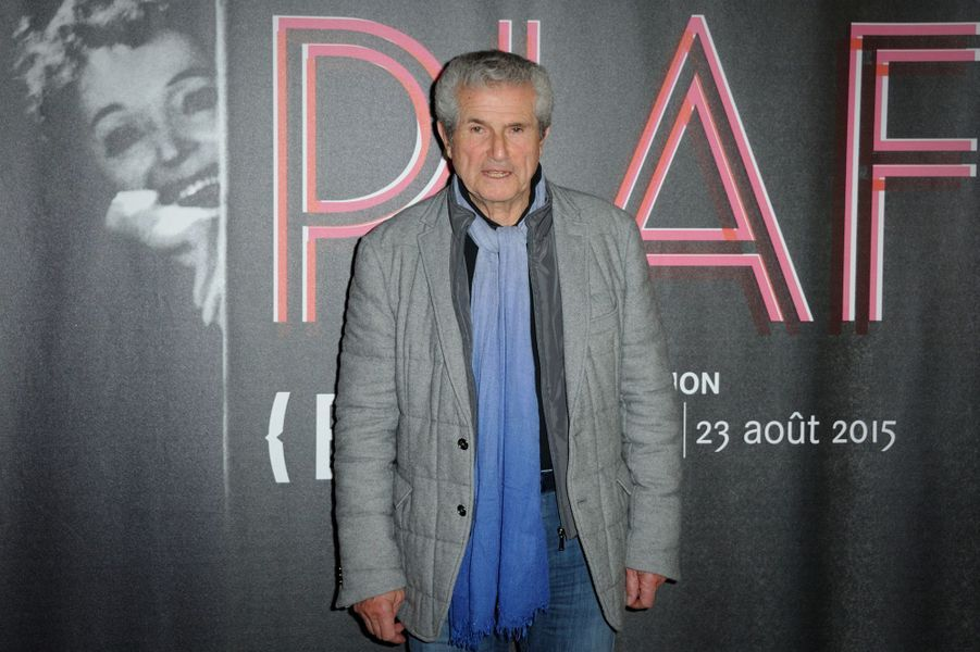 Claude Lelouch à Paris le 14 avril 2015