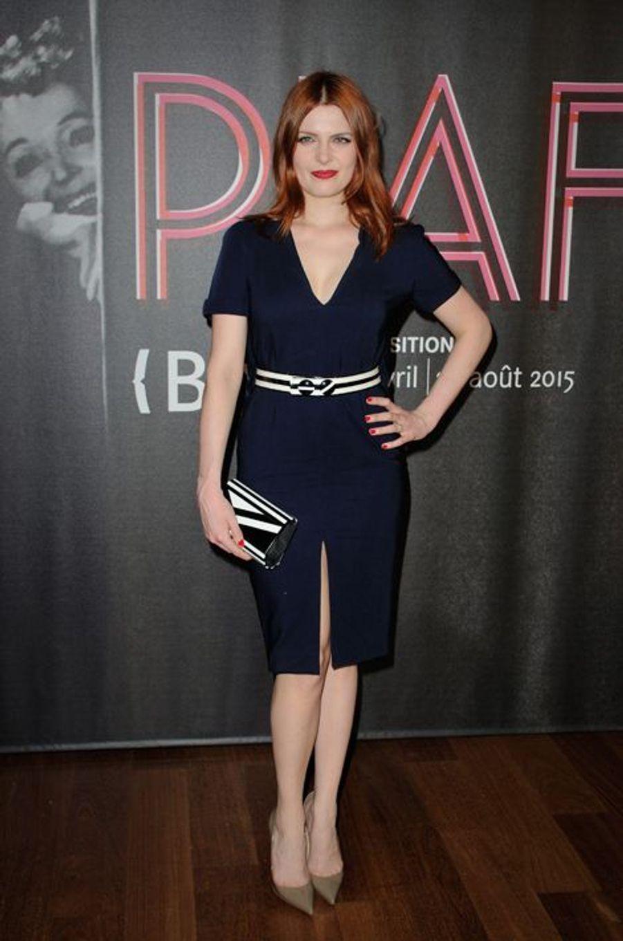 Elodie Frégé à Paris le 14 avril 2015