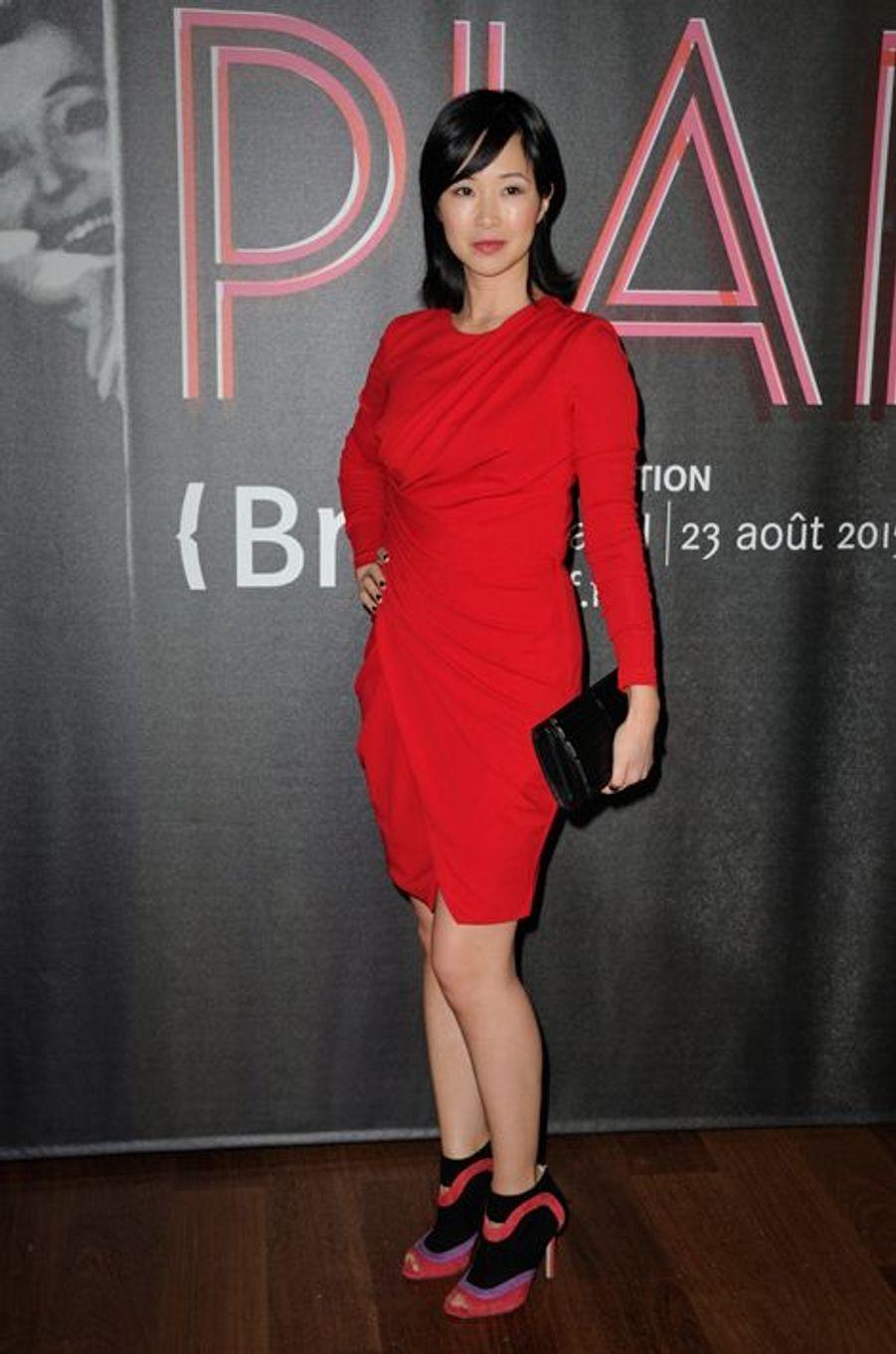 Linh Dan Pham à Paris le 14 avril 2015