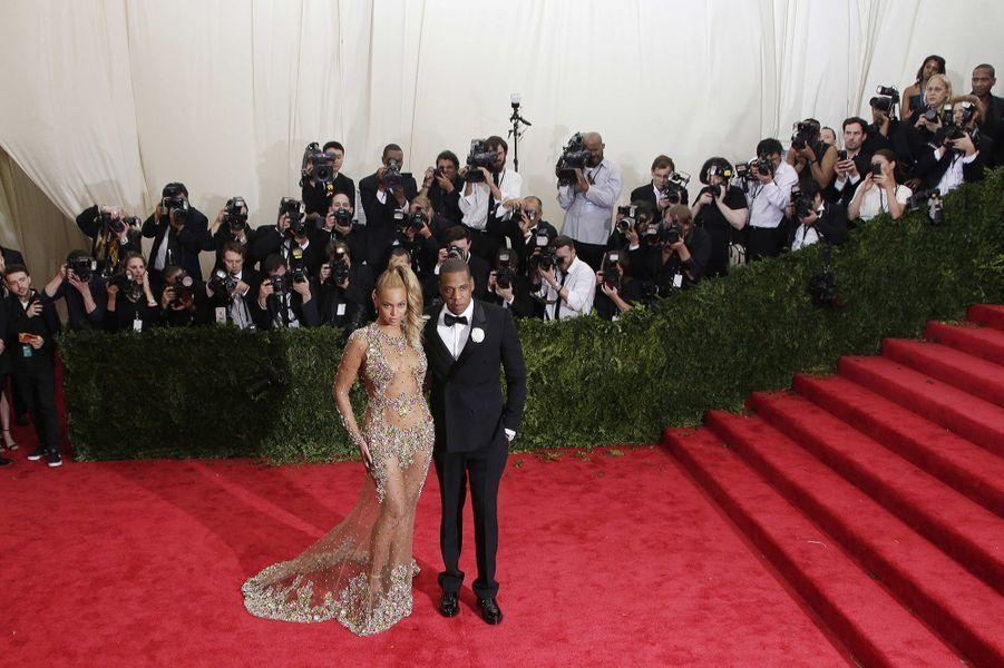 Jay Z et Beyoncé en Givenchy Couture