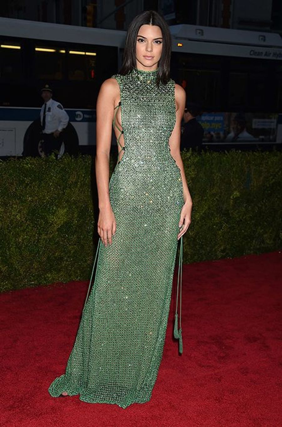 Kendall Jenner en Calvin Klein Collection