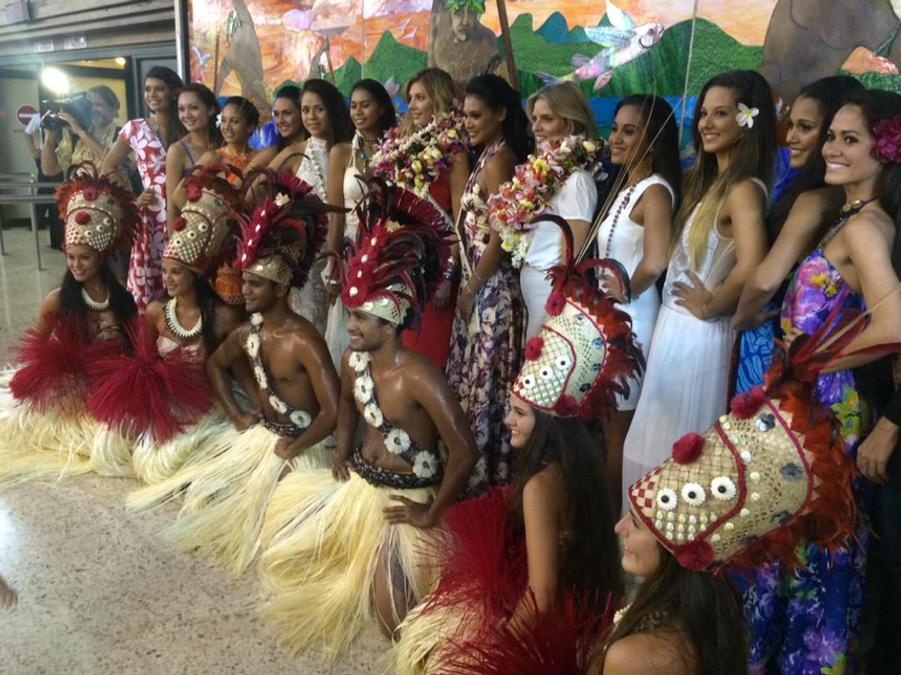 Une arrivée haute en couleurs pour Camille Cerf à Tahiti