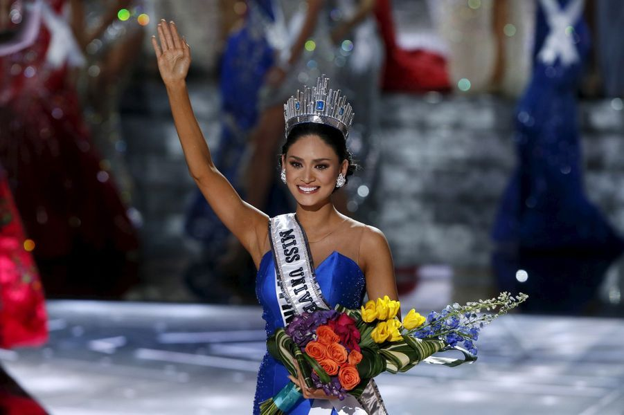 Miss Philippines (Pia Alonzo Wurtzbach) est sacrée Miss Univers 2015