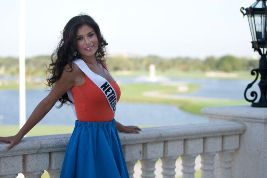 Miss Pays-Bas pour Miss Univers 2015