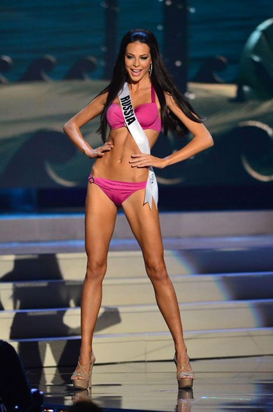 Miss Russie Yulia Alipova