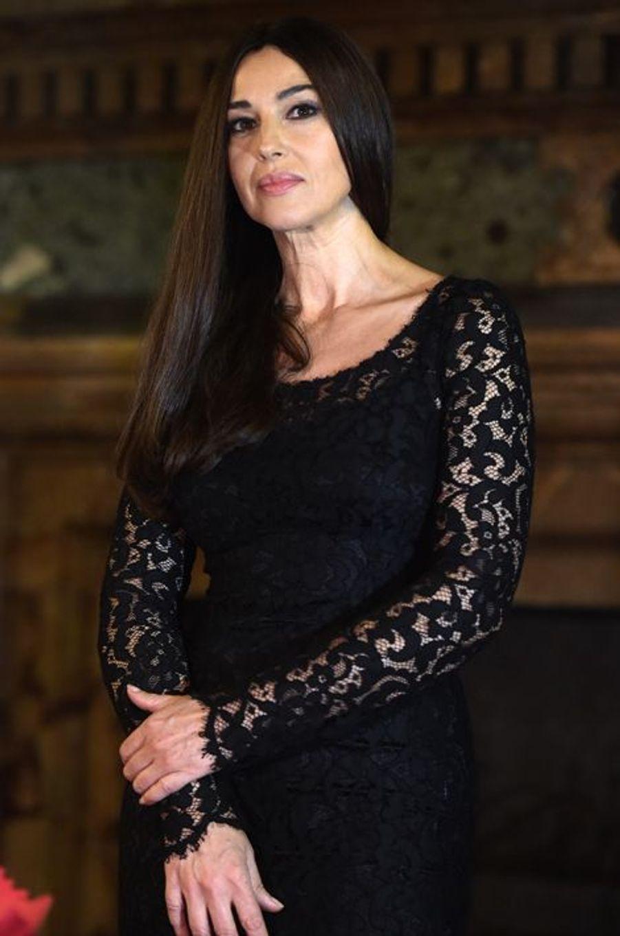 Monica Bellucci à Rome le 19 mars 2015