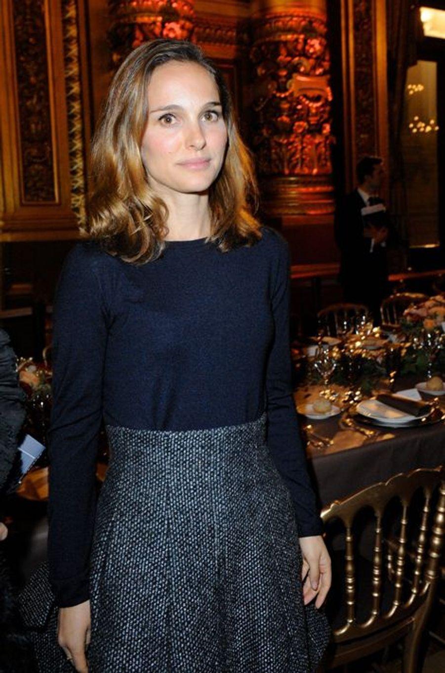 Natalie Portman à Paris le 12 janvier 2014