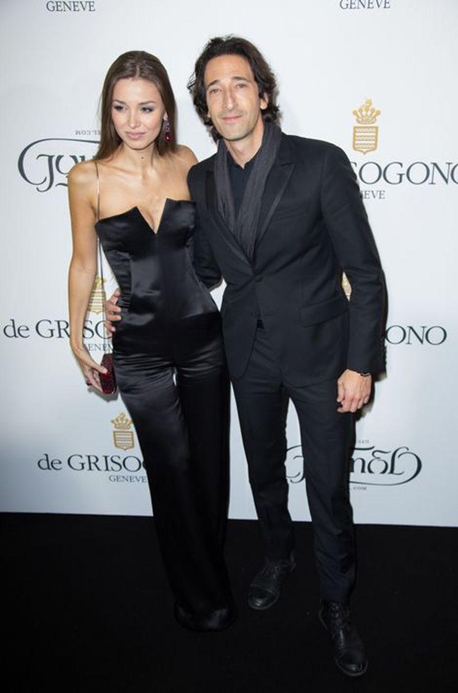 Adrien Brody et sa compagne