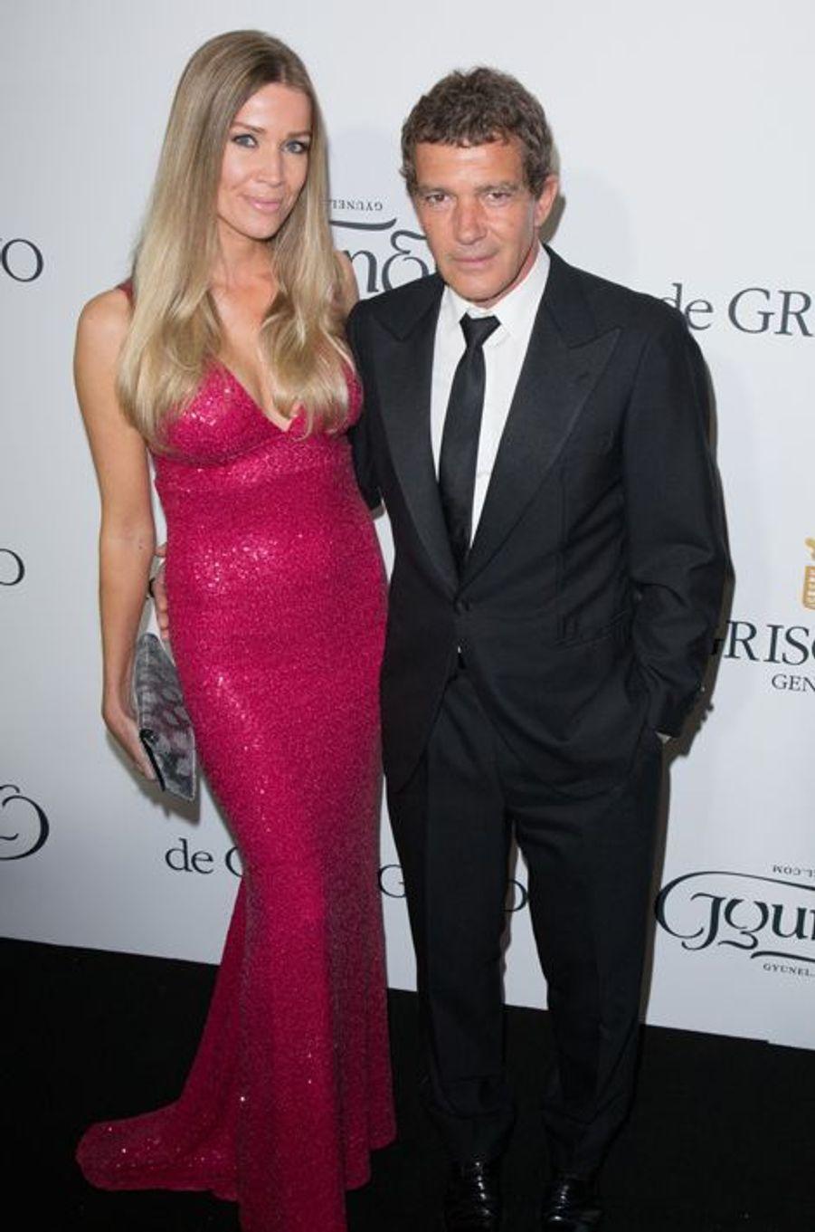 Antonio Banderas et sa compagne Nicole Kimpel