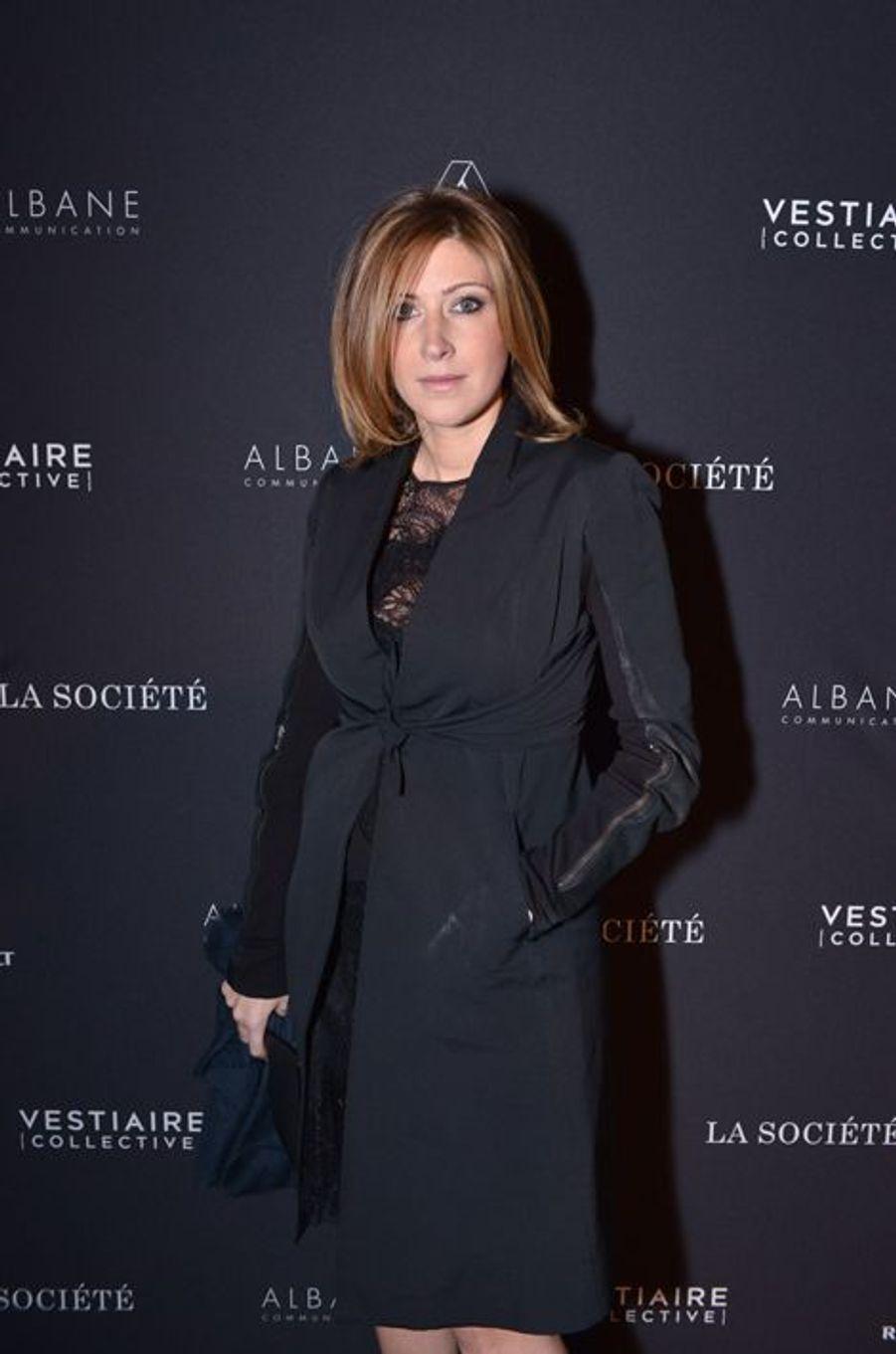 Amanda Sthers à Paris le 5 février 2015