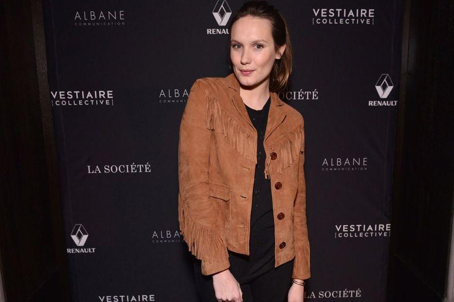 Ana Girardot à Paris le 5 février 2015