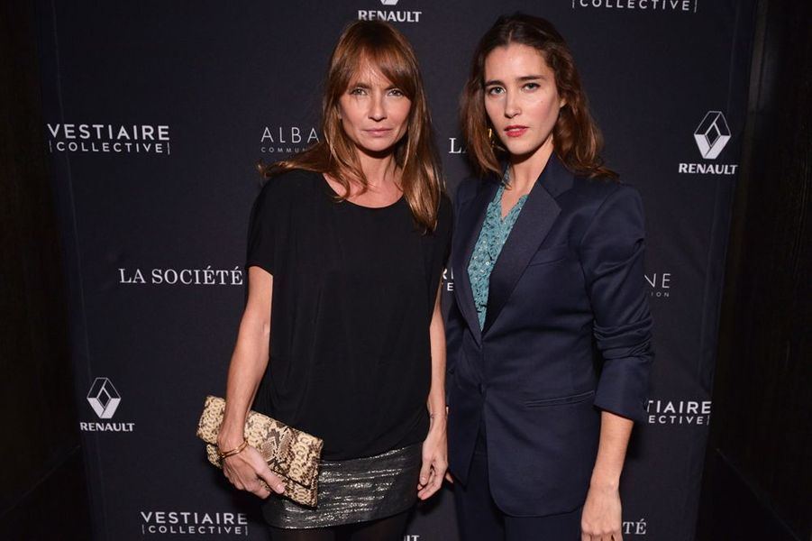 Axelle Laffont et Vahnia Giocante à Paris le 5 février 2015