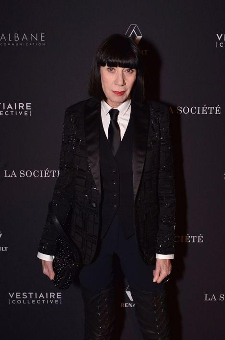 Chantal Thomass à Paris le 5 février 2015