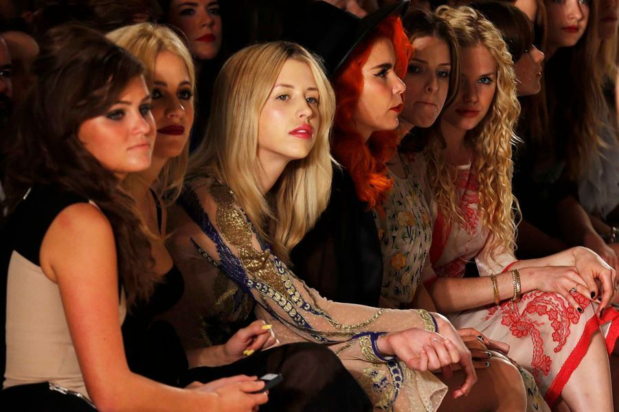 Pixie Lott, Peaches Geldof, Paloma Faith, Anna Kendrick et MacKenzie Mauzy