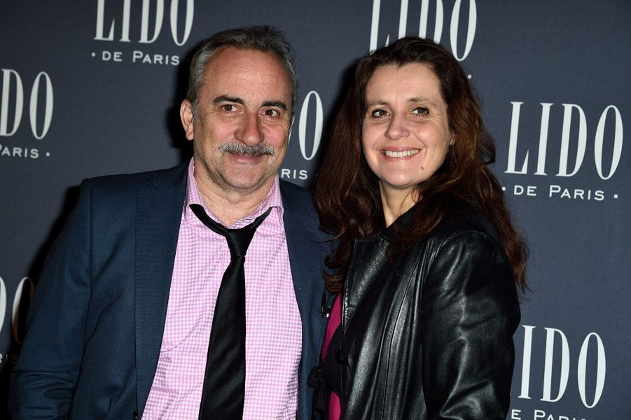 Antoine Dulery et Pascale Pouzadoux à Paris le 8 avril 2015