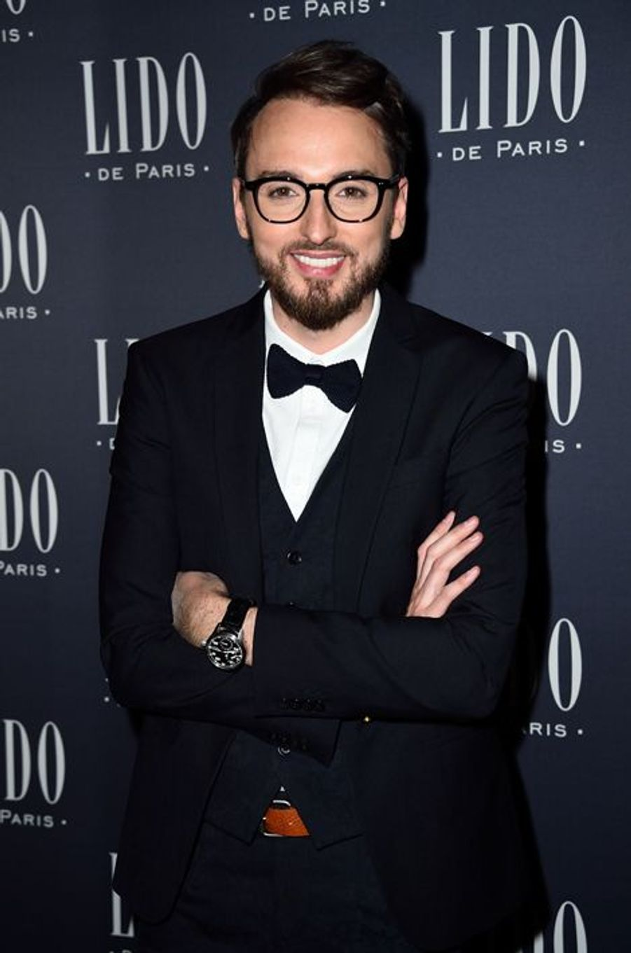 Christophe Willem à Paris le 8 avril 2015