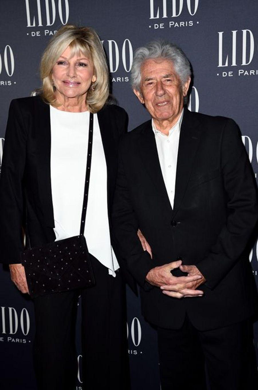 Maryse et Philippe Gildas à Paris le 8 avril 2015