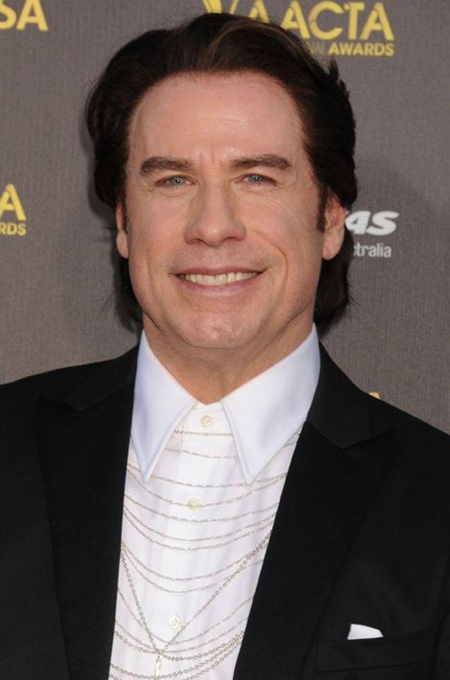 John Travolta à Los Angeles le 31 janvier 2015