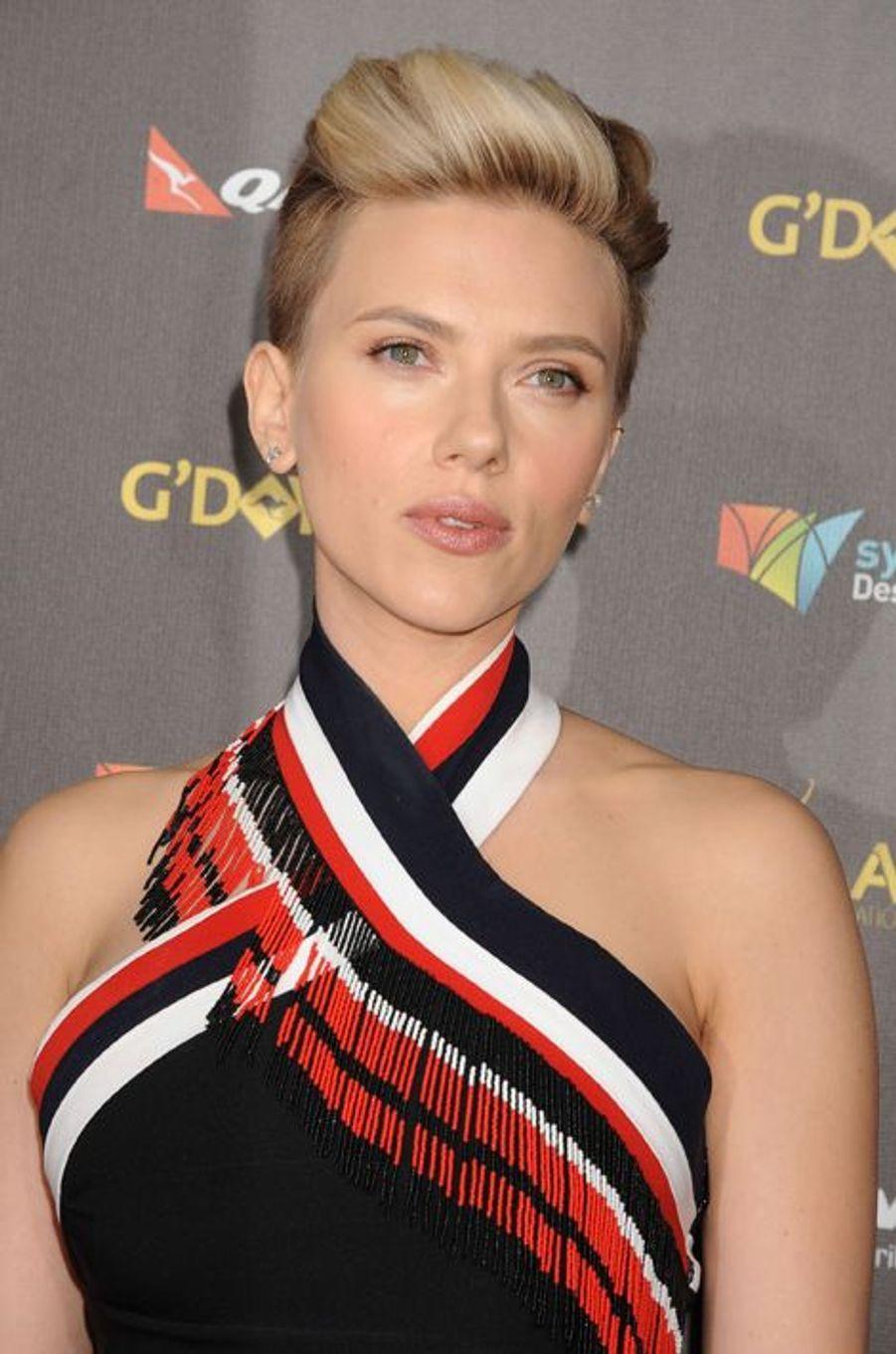 Scarlett Johansson à Los Angeles le 31 janvier 2015