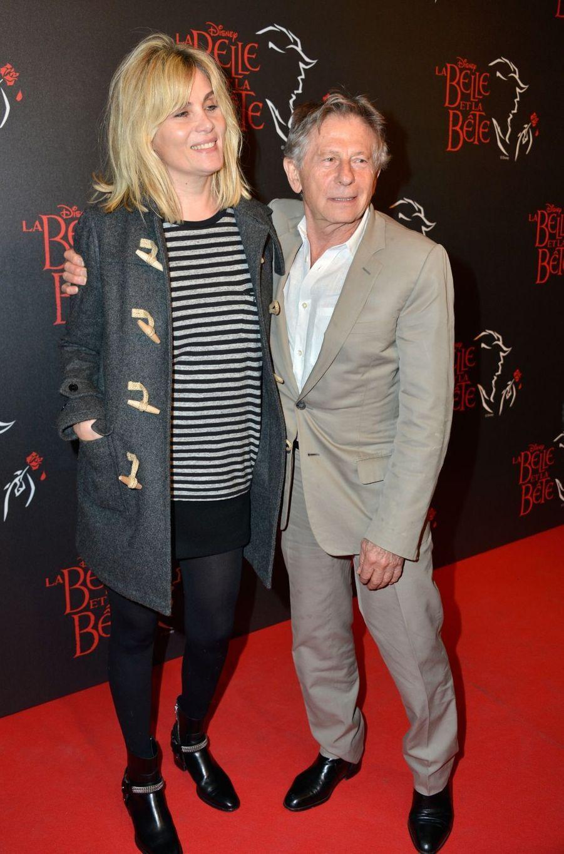 Roman Polanski et Emanuelle Seigner