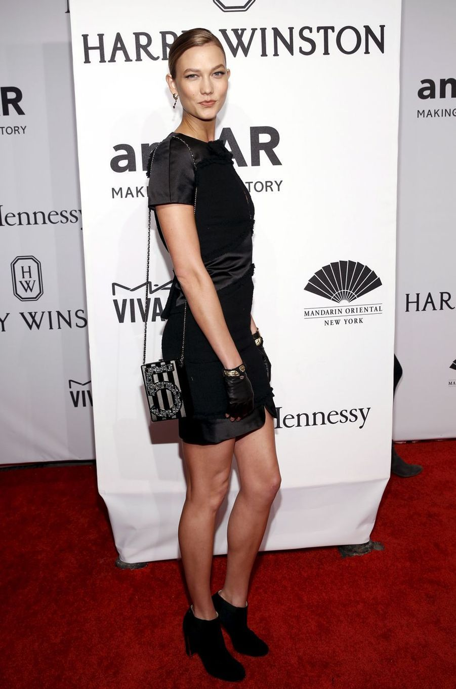 Karlie Kloss à New York le 10 février 2016
