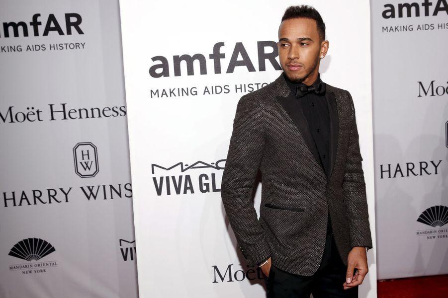 Lewis Hamilton à New York le 10 février 2016