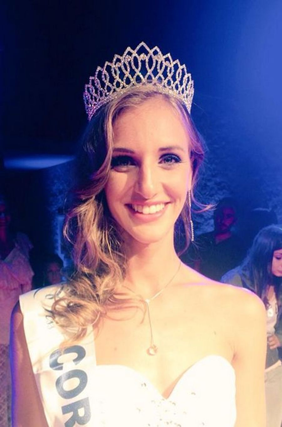 Miss Corse - Jessica Garcia (21 ans - 1,71 m) - Étudiante en communication