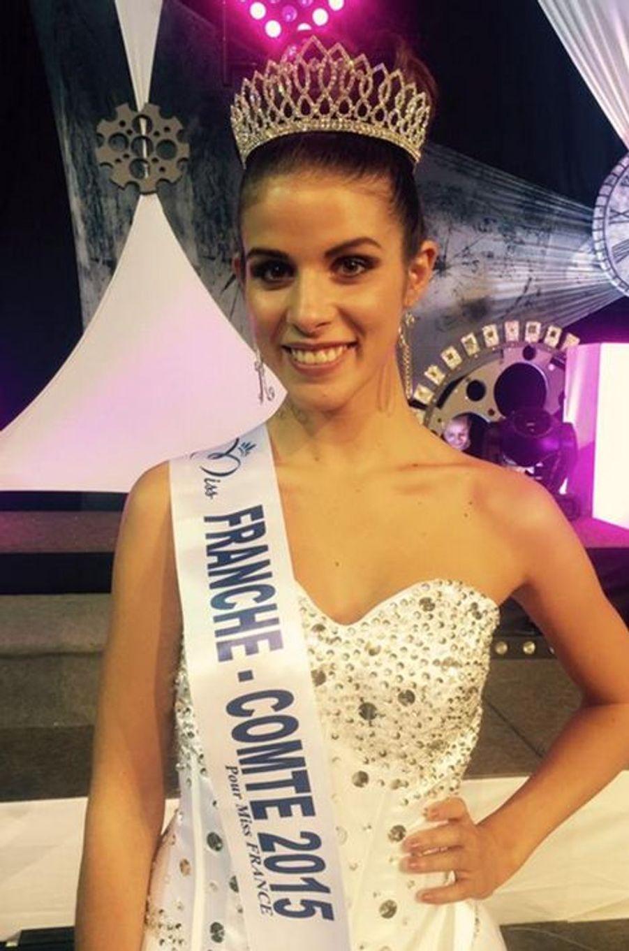 Miss Franche-Comté - Alizée Vannier (19 ans - 1,72 m) - Étudiante en gestion