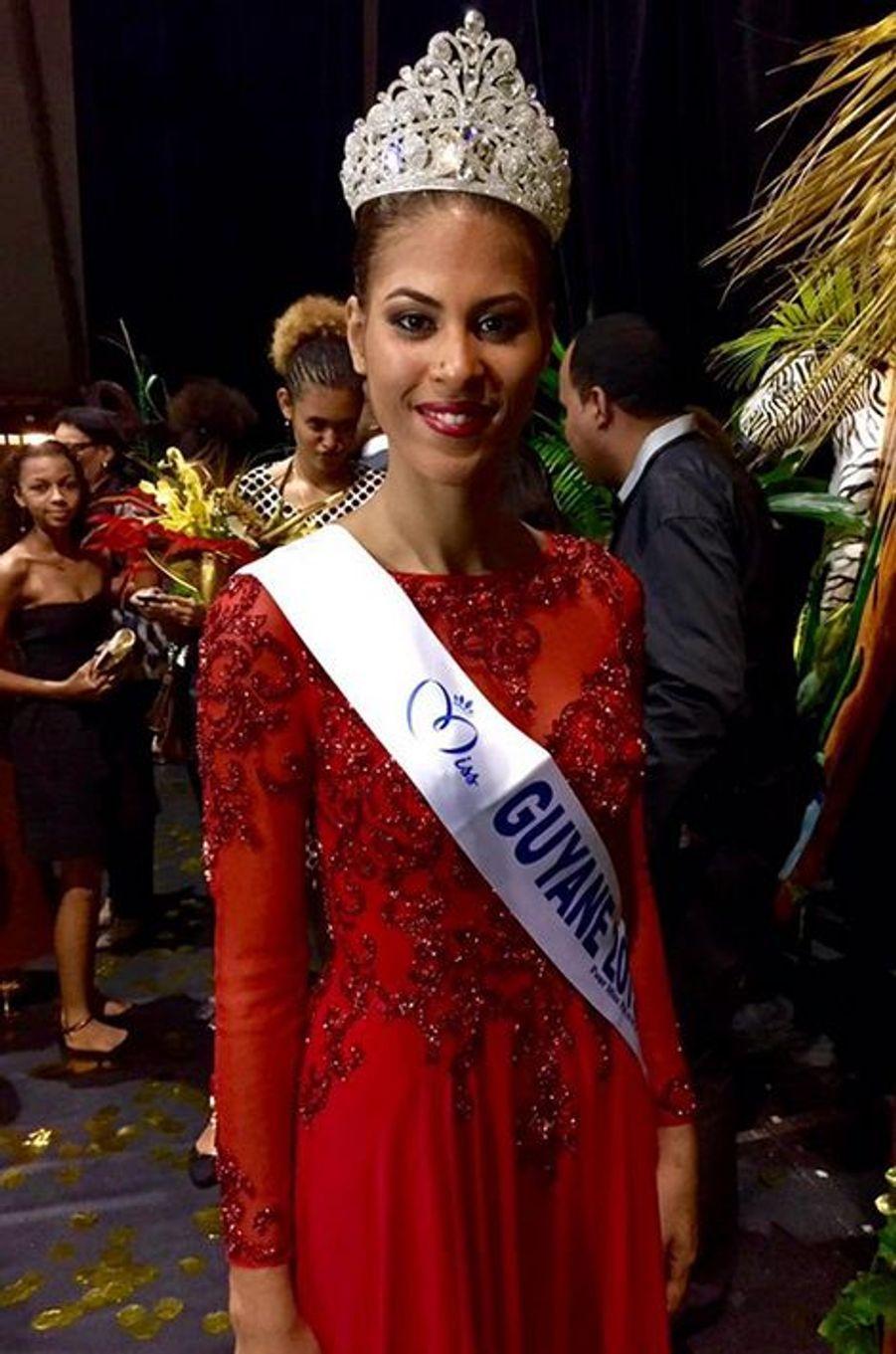 Miss Guyane - Estelle Merlin (21 ans - 1,82 m) - Assistante bancaire