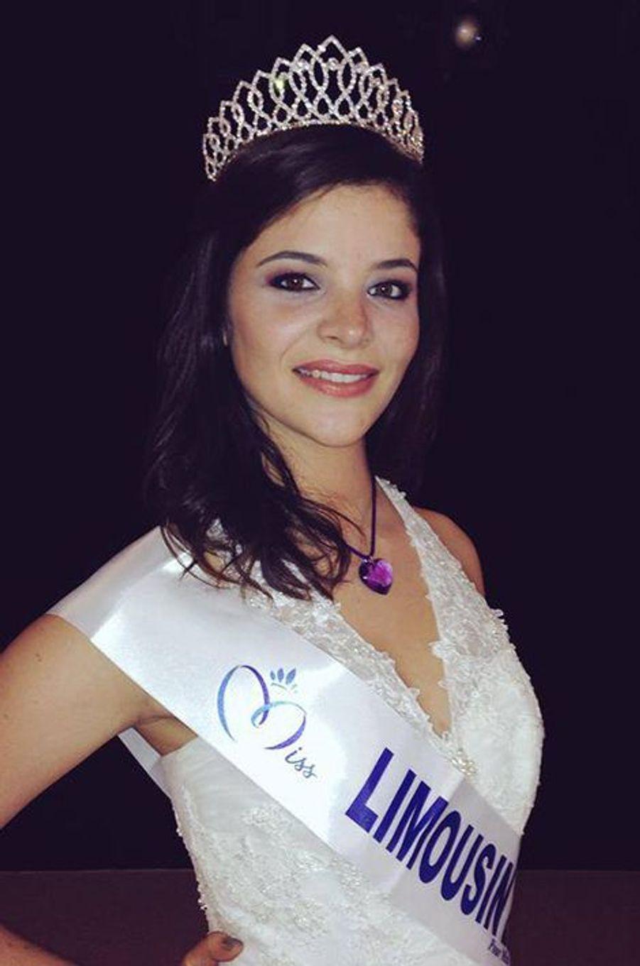 Miss Limousin - Emma Bourroux (19 ans - 1,78 m) - Étudiante en sciences