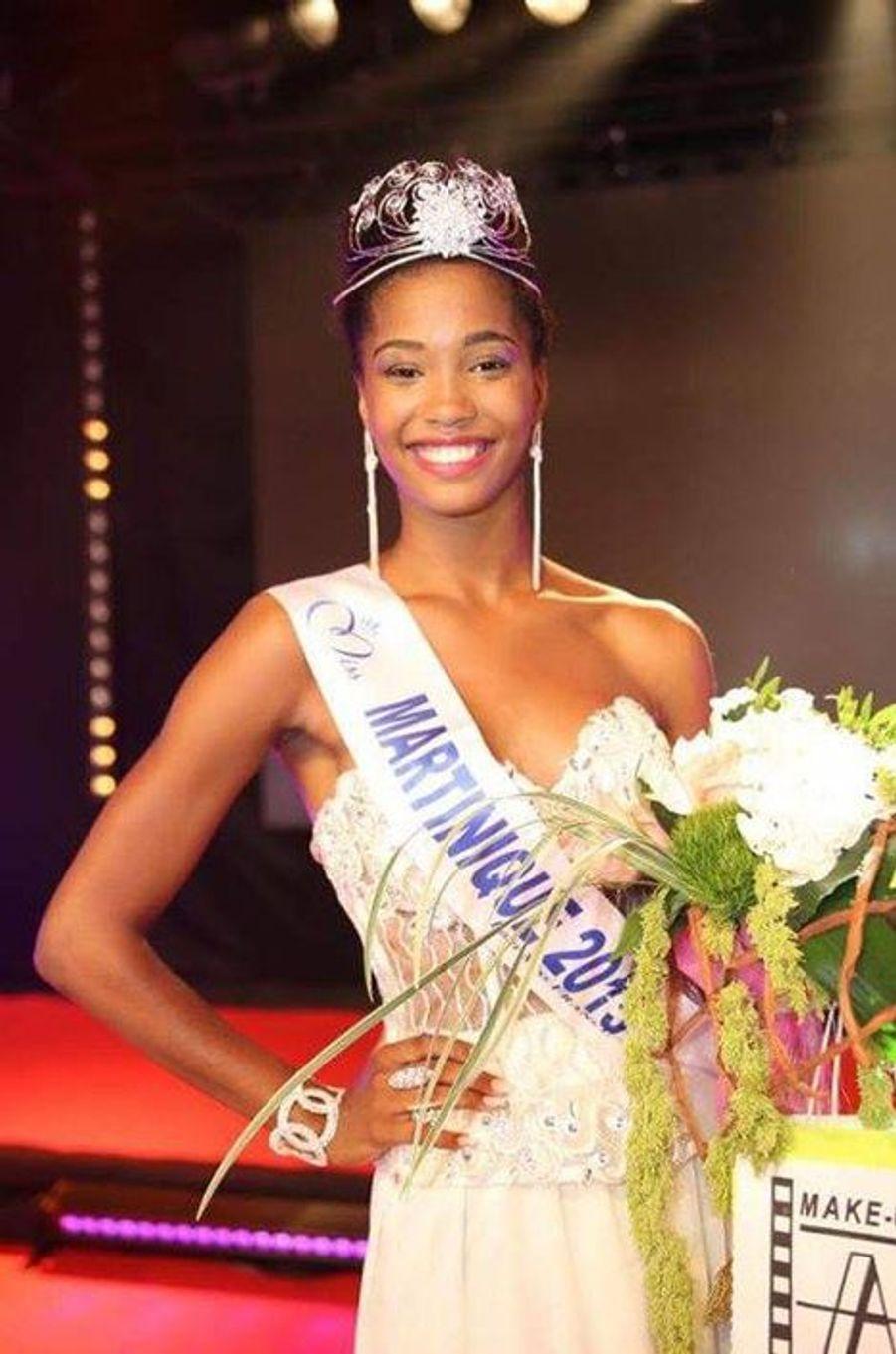Miss Martinique - Morgane Edvige (19 ans- 1,77 m) - Étudiante en BTS Tourisme