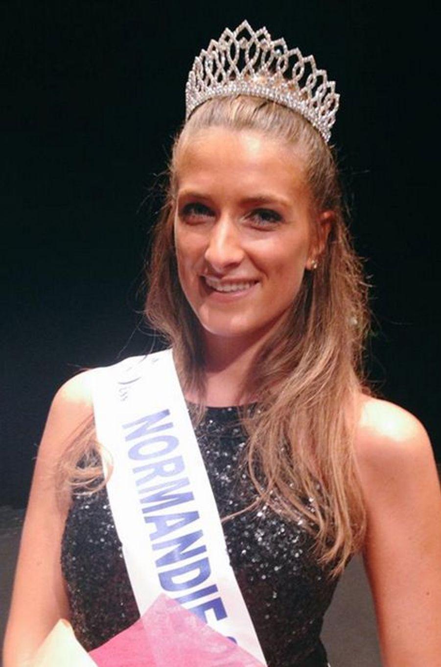 Miss Normandie - Daphné Bruman (23 ans - 1,78 m) - Étudiante en communication