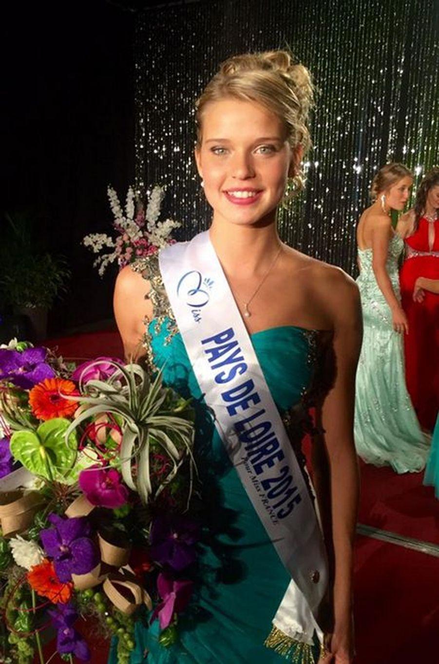 Miss Pays-de-Loire - Angélina Laurent (20 ans - 1,73 m) - Étudiante infirmière